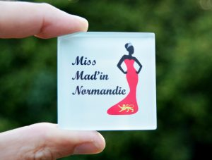 Photo magnet Miss Mad'in Normandie